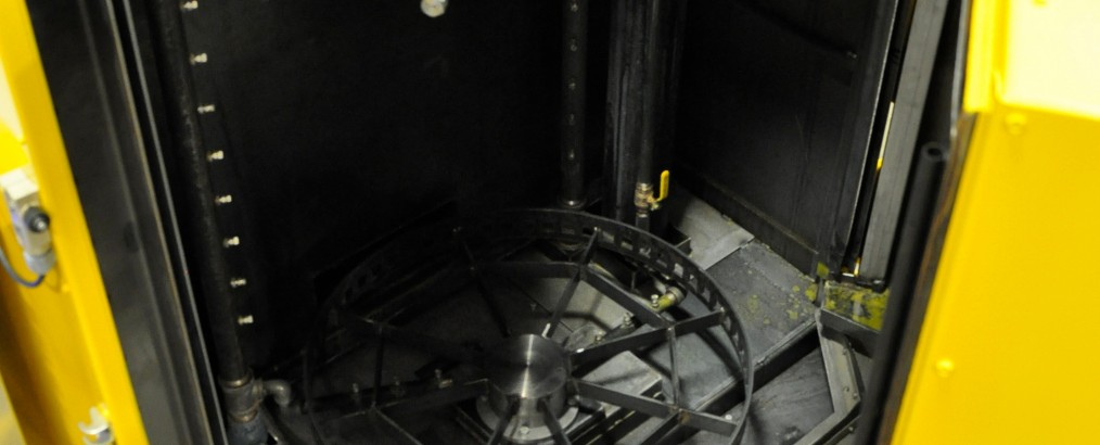 Vortex Washer - Top Left Looking Down Door Open
